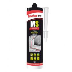 Sellador fischer adhesivo ms express cristal 290ml