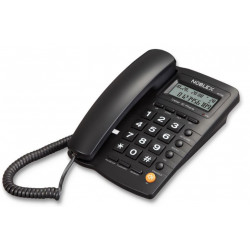 Telefono noblex mesa/pared ident. llamadas