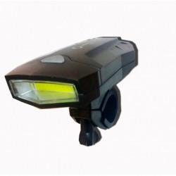 Linterna gamasonic led para bicicleta 100mts