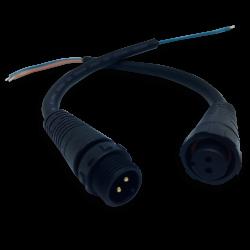 Conector dml macho/hembra p/bañador bn-09/10 20cm