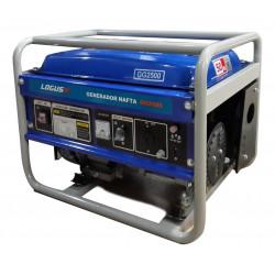 Generador logus 2500w 220-12v 5.5hp 3000rpm manual
