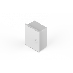 Gabinete genrod estanco pvc ip65 con bandeja 230x280x140