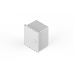 Gabinete genrod estanco pvc ip65 con bandeja 230x280x180