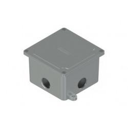 Caja daisa uso exterior 10x10 c/4 agujeros 3/4'