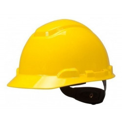 Casco 3m proteccion amarillo h-700