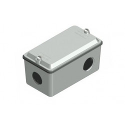 Caja daisa de paso tipo 'x' uso interior rosca 1/2'