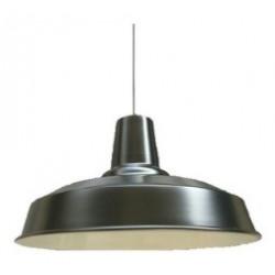 Colgante 314/n industrial negro 40cm
