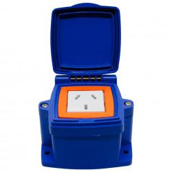 Caja solnic capsulada 1 toma combinado 10a