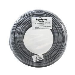 Cable epuyen telefonico 2 pares norma 755 bobina