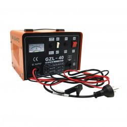 Cargador kushiro baterias 40a c/auto stop