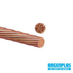 Cable argenplas desnudo cobre 1x16mm