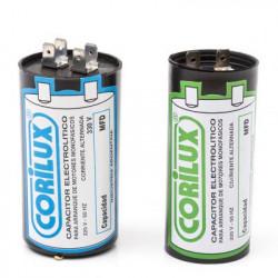 Capacitor monofasico corilux 450v. 22mf