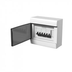 Caja genrod exterior para 2 termicas bipolares blanca sin...