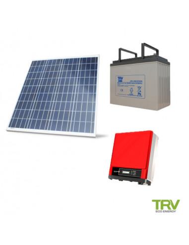 Kit solar basico 1100w