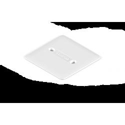 Tapa genrod pvc para caja cuadrada 10x10 embutible
