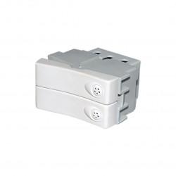 Interruptor verona combinada doble 10a. (40034)