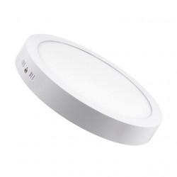 Plafon interelec 12w circular luz fria