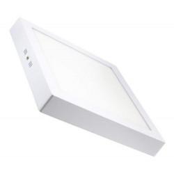 Plafon interelec 6w cuadrado luz fria