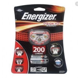 Linterna energizer vincha 200 lumenes headlight manos libres